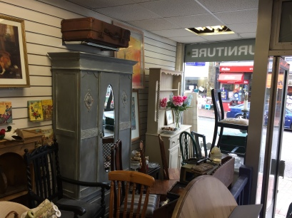 A wide range of furniture and other collectibles