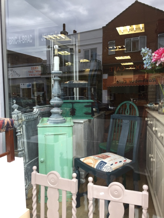 Browse our shabby chic from the front window