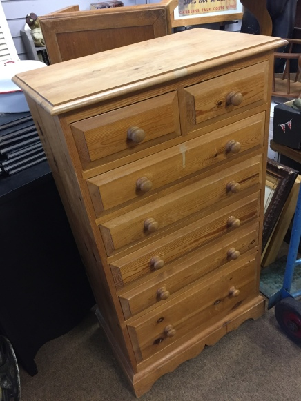 How furniture looks when we collect it from a house clearance - The 'before' photo