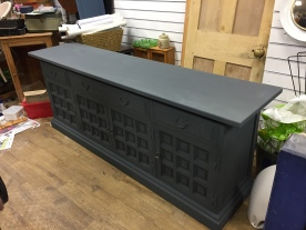 Work in progress - up-cycling a luxurious sideboard